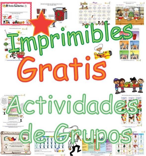 Divertidas Actividades Saludables Para Niños Para El Aula y La Casa ...