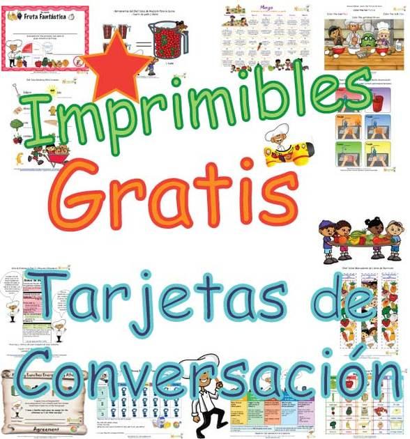 Tarjetas de Conversación Imprimibles Para Niños – PDF de Tarjetas ...