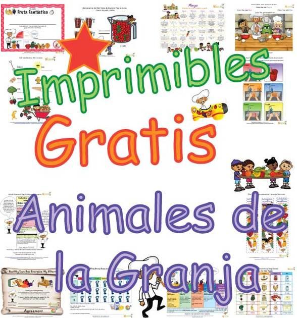 Animales de Granja - Hojas de Trabajo y Actividades que les enseñan ...