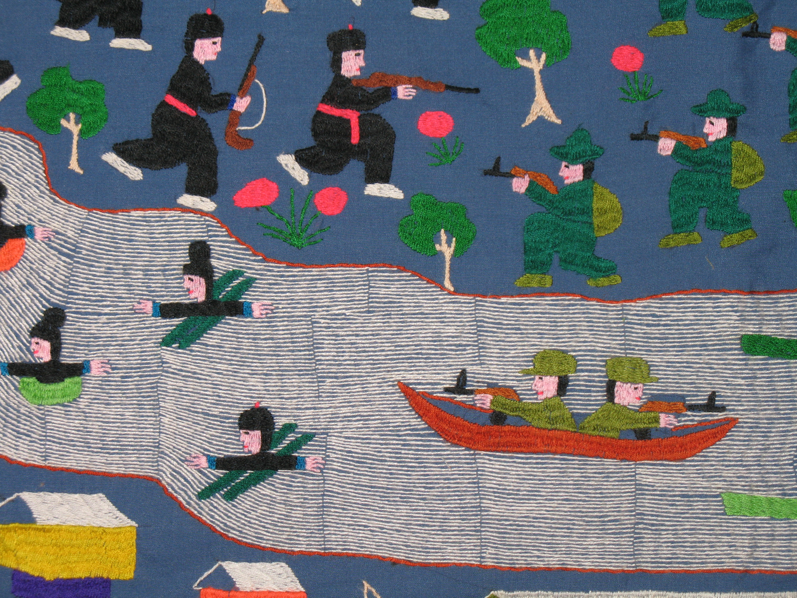 PRX » Piece » Bridging the Shores: The Hmong-American Experience : hmong story quilt - Adamdwight.com