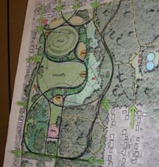 Caption: Sketch of the design for the park, Credit: West Seattle Blog