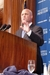Caption: New Orleans Mayor Mitch Landrieu addressed The National Press Club on Thursday, August 19th at a Luncheon featuring Gulf Coast shrimp, Credit: Terry Hill