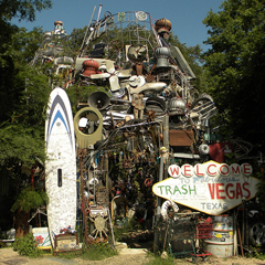 Caption: Cathedral of Junk - Austin, TX, Credit: State of the Re:Union