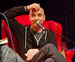 Caption: Humorist David Rakoff, Credit: Jennie Baker for Live Wire!