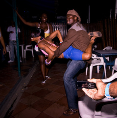 Caption: A dance called Daggering is the new craze in the Carribbeans