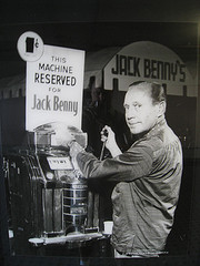 Caption: Jack Benny, Flamingo, 1958, Credit: Dan Perry