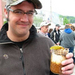 Caption: Shea Shackelford enjoying a barbecue sundae at the 2005 National Cornbread Festival, Credit: Jennifer Deer