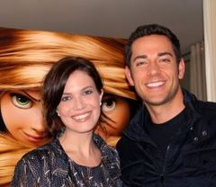 Caption: Mandy Moore & Zachary Levi, 11/7/10, San Francisco, CA, Credit: Andrea Chase