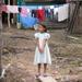 Caption: Little girl in Nuevo Milenio