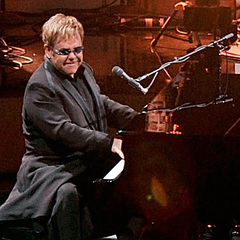Caption: Elton John performs at the Beacon Theatre. , Credit: Slaven Vlasic/Getty Images North America