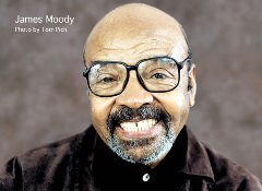 Caption: James Moody, Credit: Tom Pich