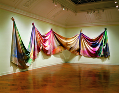 Caption: &quot;Light Depth&quot; Sam Gilliam, 1969, Credit: Corcoran Gallery of Art