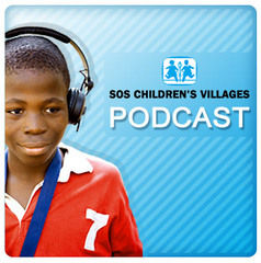Caption: SOS Children's Villages Podcast, Credit: In-house voice-over talent: Catherine Nash & Anthony
