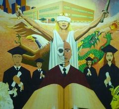Caption: Justice for Youth mural, Credit: San Francisco Juvenile Justice Center