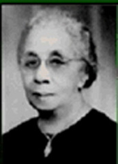 Caption: Nellie Mae Quander (1880-1961), 1st international president of Alpha Kappa Alpha, the 1st Greek-lettered sorority established/incorporated by African-American college women., Credit: Quander Historical Society, Inc.