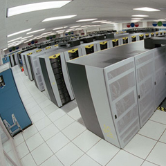 Caption: A supercomputer, Credit: NASA