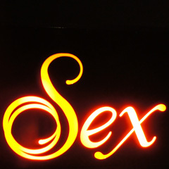 Caption: Sex poster at Natural History Museum, Credit: Andy Duckworth