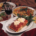 Caption: Food and wine in a typical Italian table, Credit: World Food and Wine