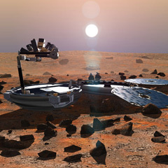 Caption: Beagle 2, Credit: Nasa