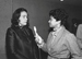 Caption: elva Davis (right) interviewing Coretta Scott King., Credit: Courtesy of Belva Davis