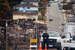 Caption: A  police officer monitors a resident checkpoint in San Bruno after the gas line explosion., Credit:  Flickr photo by Thomas Hawk