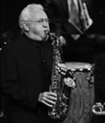 Caption: Lee Konitz , Credit: Frank Stewart