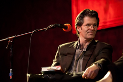 Caption: Andre Dubus III, Credit: Jennie Baker for Live Wire!