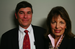 Caption: Brian Perkins with San Mateo Congresswoman Jackie Speier, Credit: Photo courtesy StoryCorps