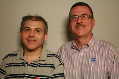 Caption: Olin Thomas and Hugo Salinas, Credit: San Francisco StoryCorps