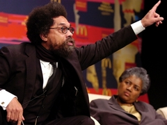 Caption: Cornel West, Credit: Richard Alan Hannon Getty Images