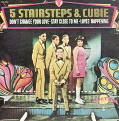 Caption: The Five Stairsteps (Alohe J. Burke - far right), Credit: Curtom & Buddah Records 1969
