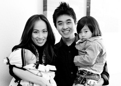 Caption: Teresita & Tri with son Nathan & daughter Natalia