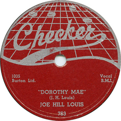 Caption: An early release on Checker from Joe Hill Louis