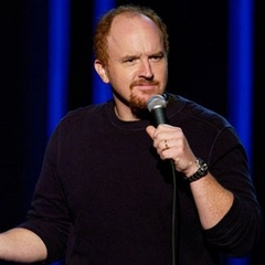 Caption: Louis CK