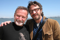 Caption: Robin Williams & Marc Maron