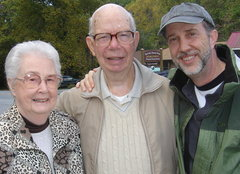 Caption: Audrey, John and Paul Ingles