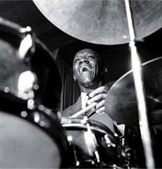 Caption: Art Blakey (October 11, 1919 – October 16, 1990), Credit: Blue Note Records
