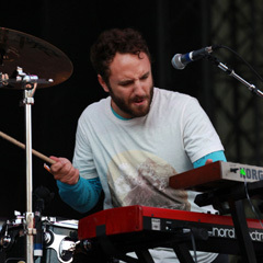 Caption: Local Natives' Kelcey Ayer, Credit: Alex Crick for KEXP