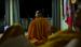 Caption: U Agga Nya Na, an activist monk who led an uprising against the Burmese military regime., Credit: Robert Fuller
