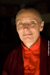 Caption: Jetsunma Tenzin Palmo, Buddhist nun, meditator and author, Credit: Photo © Peter Aronson