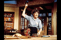 Caption: Julia Child