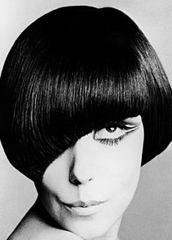 Caption: Mary Quant, as styled by Vidal Sassoon