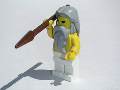 Caption: Lego Zeus , Credit: Dunechaser/Flickr