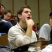 Caption: College students in a Maryland science class. Some professors are abandoning the traditional lecture because research suggests it's not very effective, but lecture classes are still common. , Credit: Emily Hanford