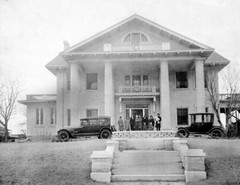 Caption: The Brady Mansion, Credit: Beryl Ford Collection, Tulsa City-County Library