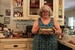 Caption: Kate Kline with Casserole, Credit: Abby Wendle