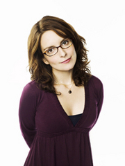 Caption: Host, Tina Fey