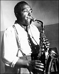 Caption: Charlie Parker in performance., Credit: Getty Images
