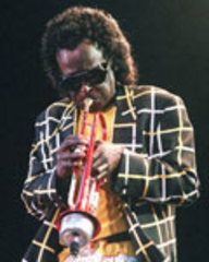 Caption: Miles Davis (July 1991), Credit: Patrick Hertzog/AFP/Getty Images