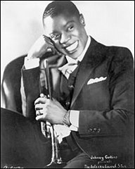 Caption: A young Louis Armstrong., Credit: Getty Images